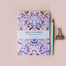 Parra Paisley A5 Notebook With Lined Pages