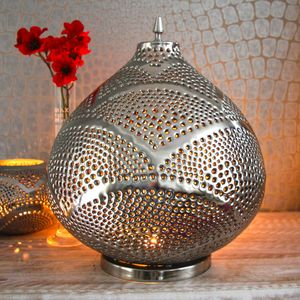 Silver Kasbah Lantern - lights & lanterns