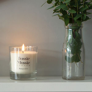 Keepsake Rosemary And Lavender Luxury Candle - home accessories