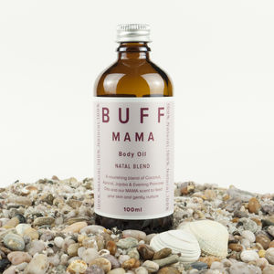 Mother's Day Buff Mama Natal Blend Body Oil - gifts from younger children