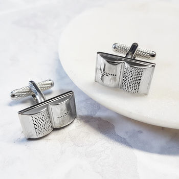 Book Cufflinks Literacy Librarian Bookworm