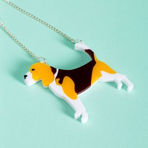Beagle Necklace