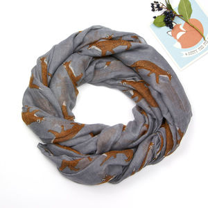 Fox Soft Scarf - women's accessories