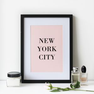 New York City Print - posters & prints