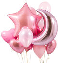 Princess Party Crazy Party Balloon Bunch