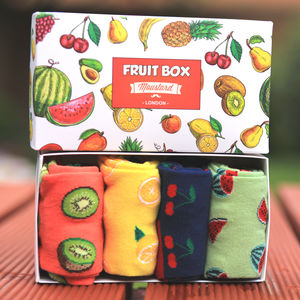 Fruit Socks Gift Box