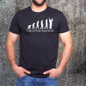 Golf Evolution T Shirt