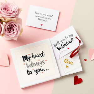 Valentine's Day Keepsake Gift Set