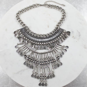 Boho Statement Shell Necklace