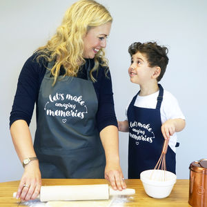 Lets Make Memories Apron - clothing