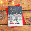 Snowy Building Christmas Card Pack