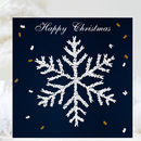 Snowflake Christmas Card, Butterfly Christmas Card