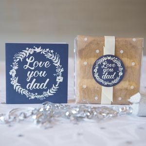 Father's Day Cake Card - cakes & sweet treats