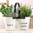 Personalised Grow Your Own Cocktail Planters