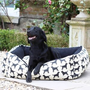 Small Labrador Dog Bed - dogs