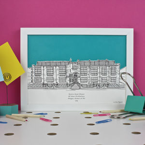Personalised Graduation Illustrations
