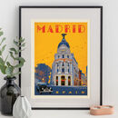 Madrid, Spain Travel Print