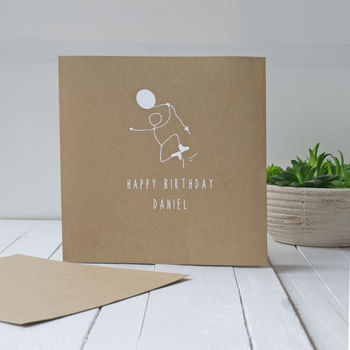 Happy Birthday Personalised Card