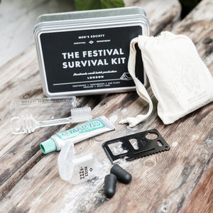 Festival Survival Kit - 30th birthday gifts
