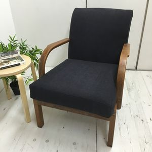 1940's Oak Open Armchair - furniture
