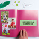 Sewing Book And Fabric Gift Set By Wild Things