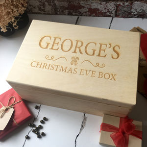 Personalised Children's Christmas Eve Box - christmas eve boxes