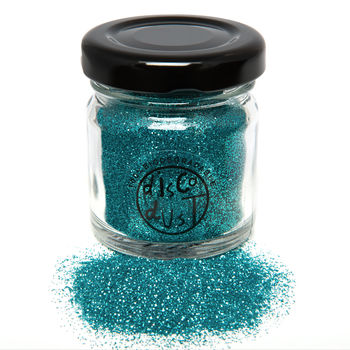 No.27 Biodegradable Turquoise Glitter Mix
