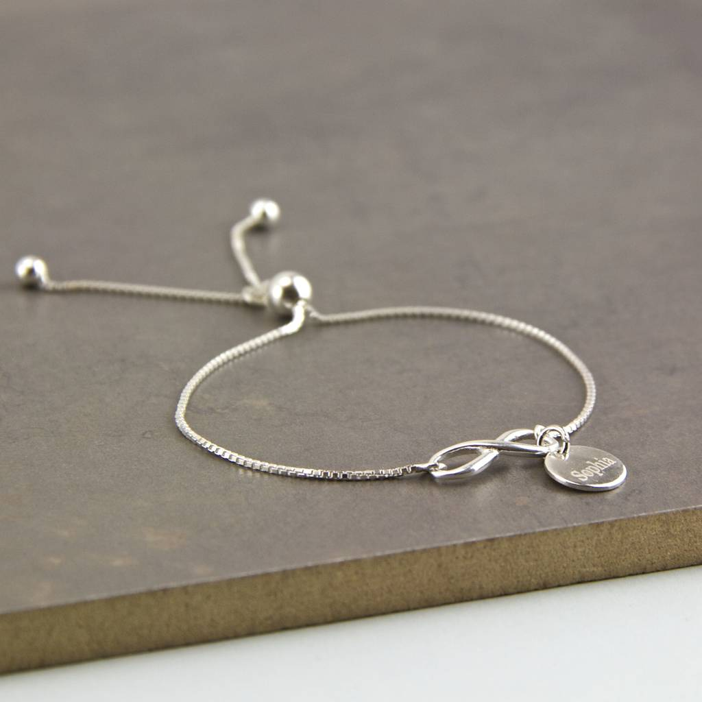 bd8e331c052fc Delicate Sterling Silver Adjustable Sliding Bracelet