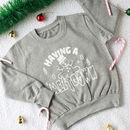 Meltdown Christmas Kid's Jumper