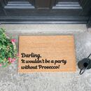 Prosecco Inspired Doormat