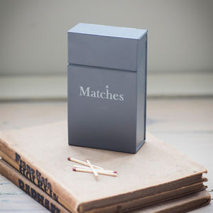 Matchbox Holder