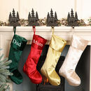 Luxury Velvet Personalised Christmas Stockings