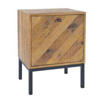 Thorpe Parquet Small Cupboard