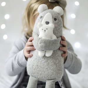 Polar Bear Cuddly Toy - gifts for babies & children