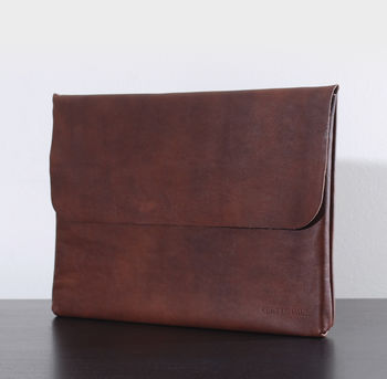 13″ Leather Laptop Sleeve