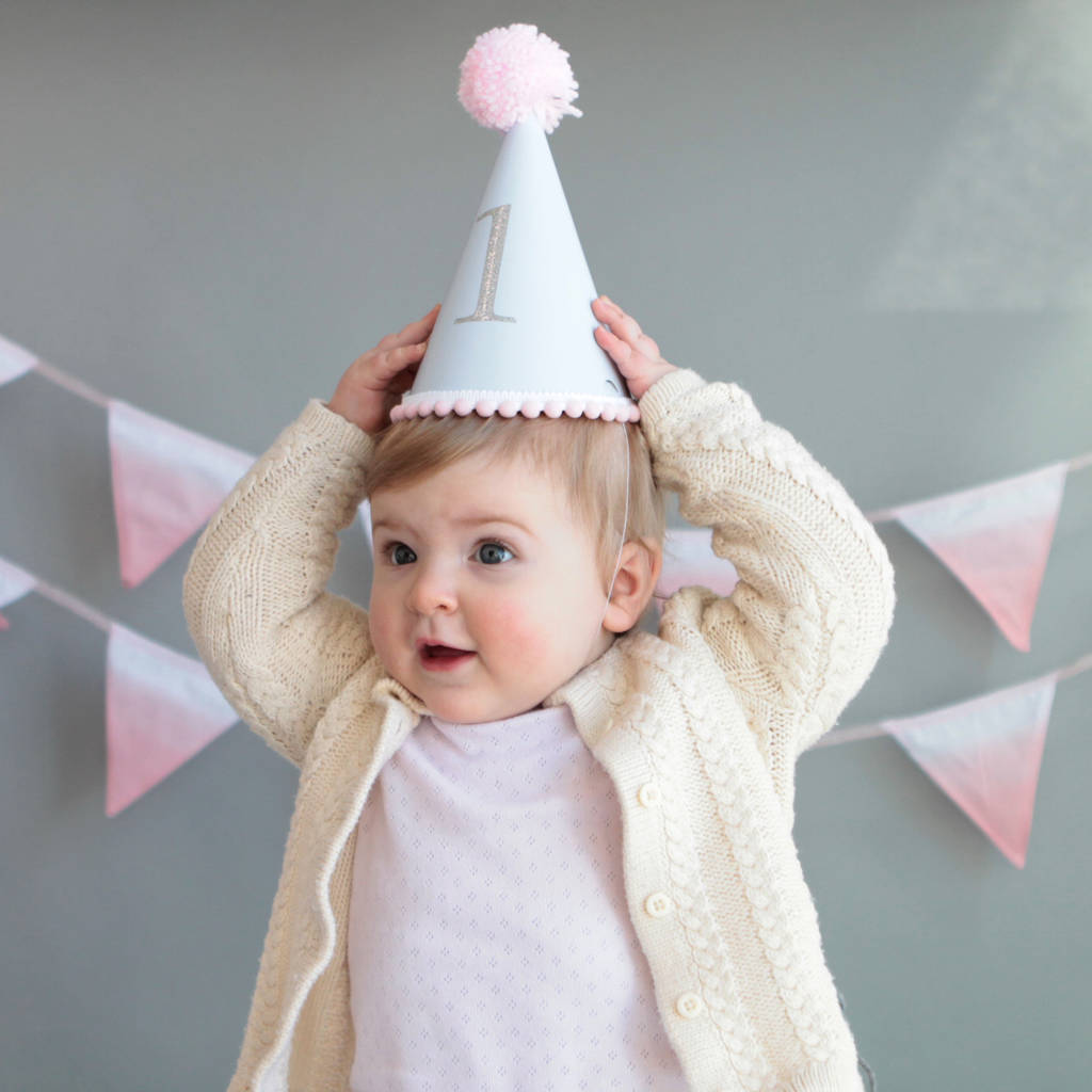 Baby's First Birthday Party Hat By Postbox Party