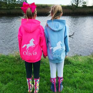 Girls Personalised Hoodie For Activities - clothing