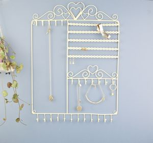 Personalised Wall Jewellery Organiser Two Colours - jewellery storage & trinket boxes