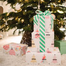Personalised Christmas Tree Wrapping Paper