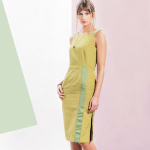 Greta Dress Green - dresses