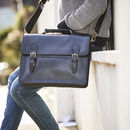 Leather Laptop/Work Bag 'Reginald Deluxe'