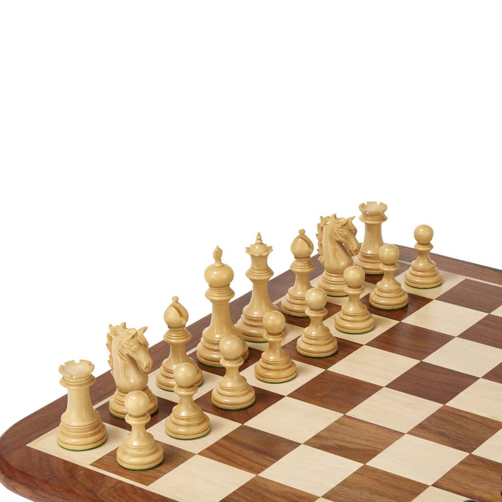 Umbrella Boxwood Chess Set By Uber Games