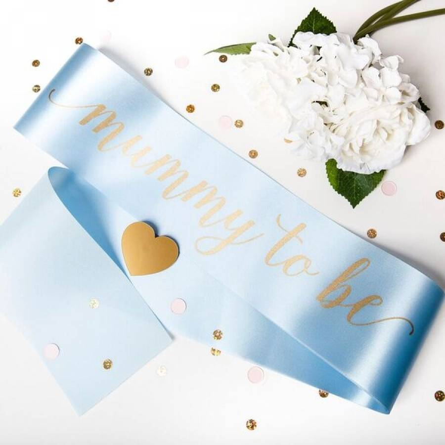 Baby Shower Sash Mummy To Be By Team Hen Notonthehighstreet Com