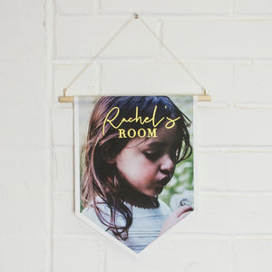 Personalised Room Canvas Banner