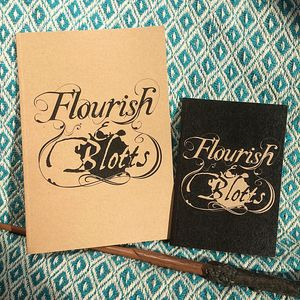 Flourish And Blotts Notebook Recycled Paper