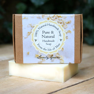 Natural Oatmeal Unscented Soap