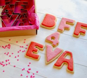 'Bff 4 Eva' Valentines Say It With Cookies Kit - new in food & drink
