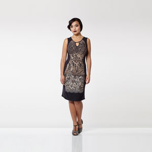 Leopard Print Farah Dress - dresses