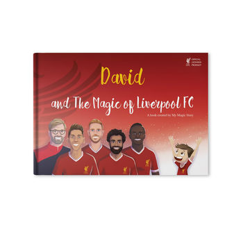 Personalised Football Book 'The Magic Of Liverpool Fc'