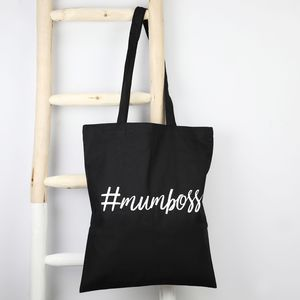 '#Mumboss' Cotton Tote Bag